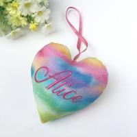 Personalised Rainbow Heart