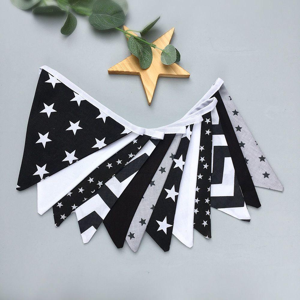 Black & White Bunting