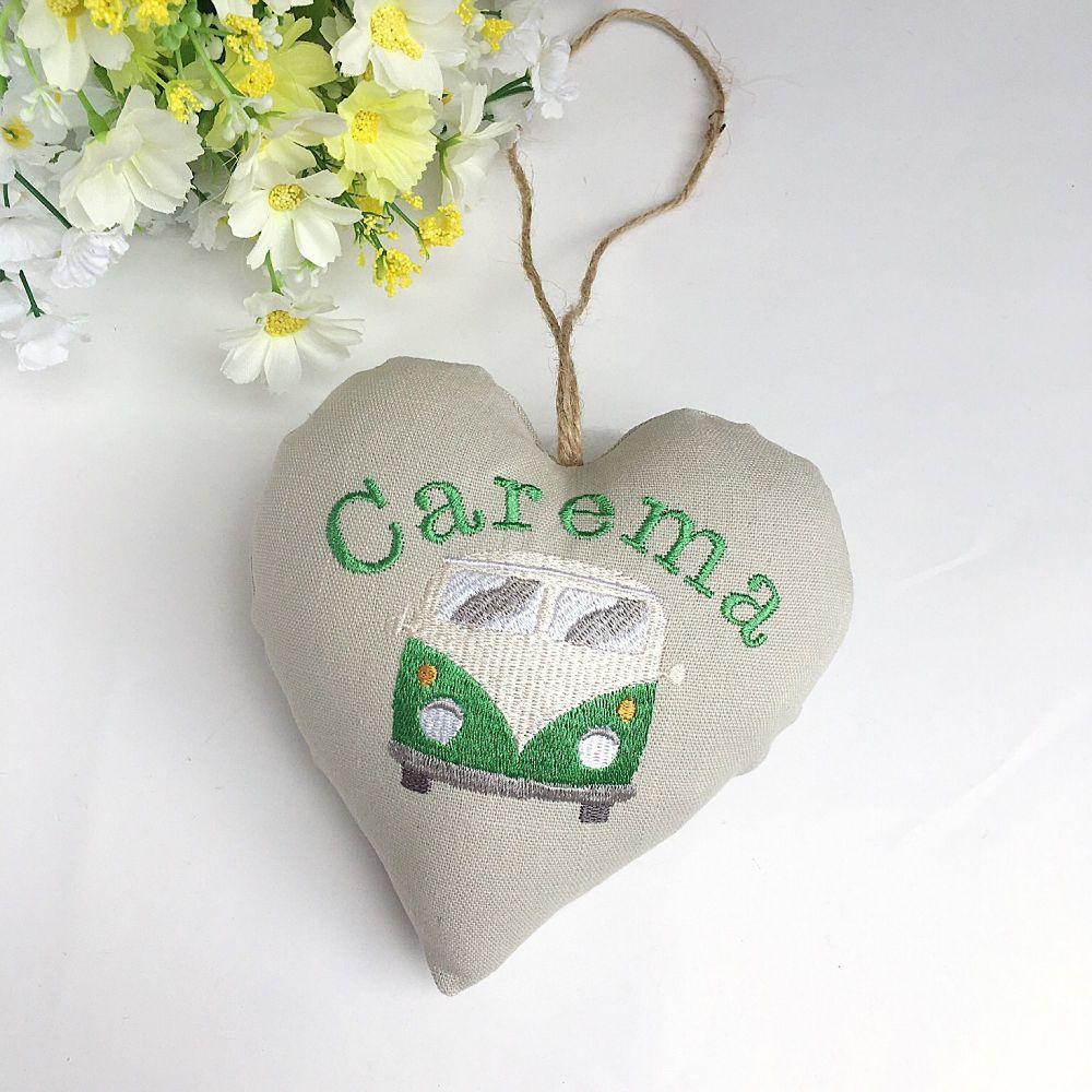 Personalised  Campervan Heart