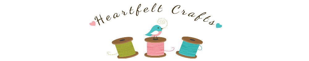Heartfelt Crafts, site logo.