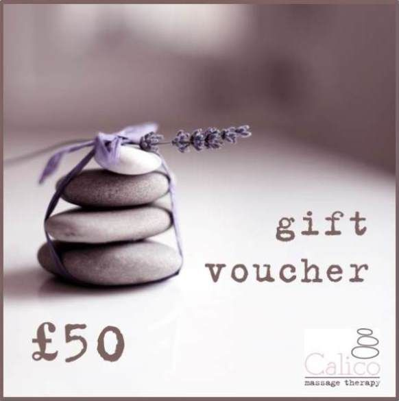 Calico Pregnancy Massage Gift Voucher