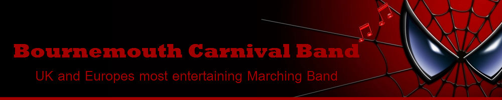 Bournemouth Carnival Band, site logo.