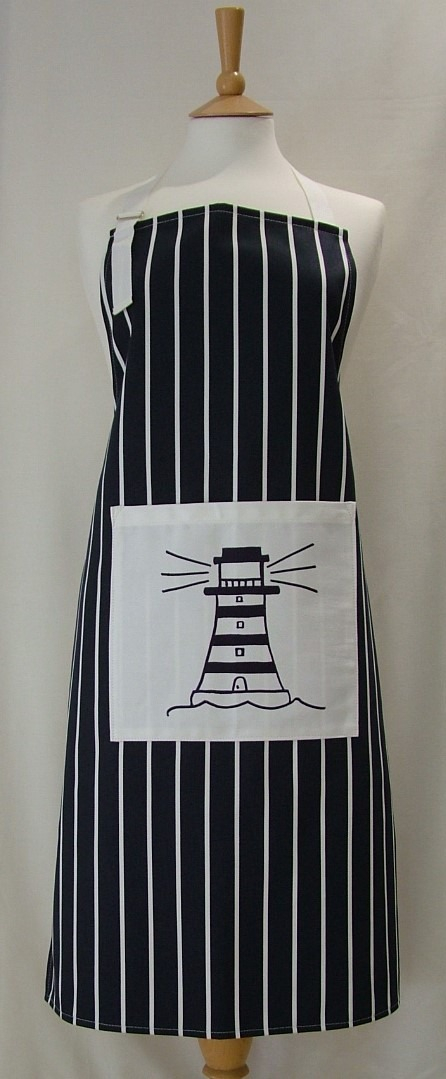 Lighthouse Adult Cotton Apron