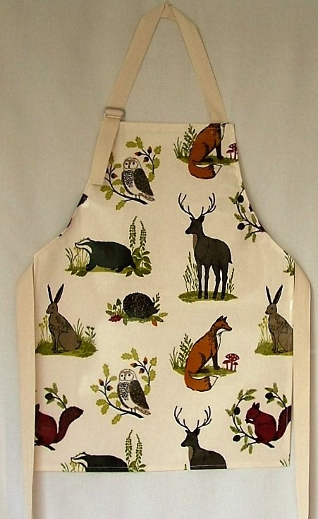 Countryside Child's Oilcloth Apron