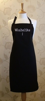 Woshelike! Adult Cotton Apron - Black