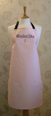 Woshelike! Adult Cotton Apron - Pink