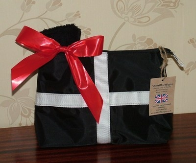 St. Piran Wash Bag - with Flannel