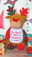 <!-- 00001 -->PERSONALISED CHRISTMAS SOFT TOYS