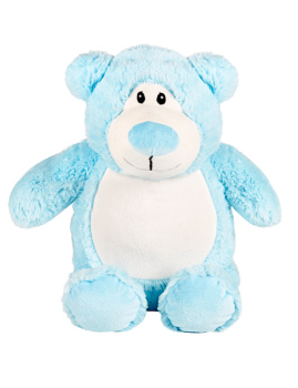PERSONALISED BEAR - BLUE