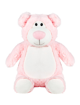 PERSONALISED BEAR - PINK