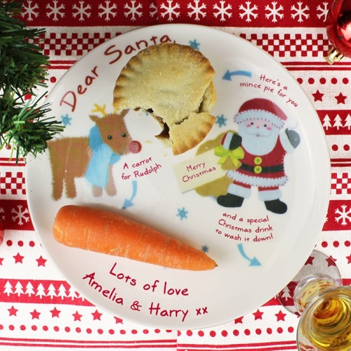FELT STITCH PERSONALISED MINCE PIE PLATE