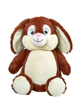 PERSONALISED BUNNY - BROWN