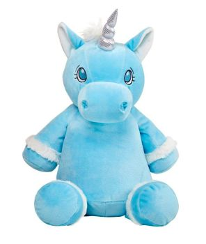 PERSONALISED UNICORN - BLUE