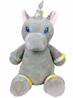 PERSONALISED UNICORN - GREY