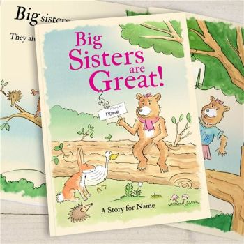 BIG SISTERS ARE GREAT BOOK