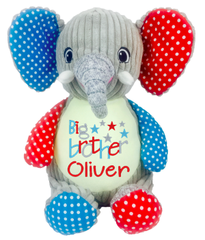 PERSONALISED RETRO ELEPHANT