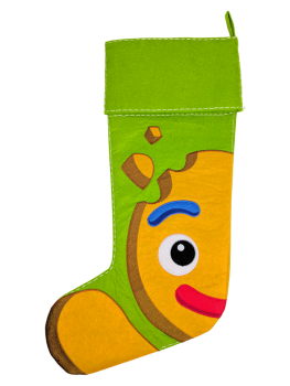 CHRISTMAS GINGERBREAD STOCKING - PRE ORDER NOW FOR DECEMBER DISPATCH