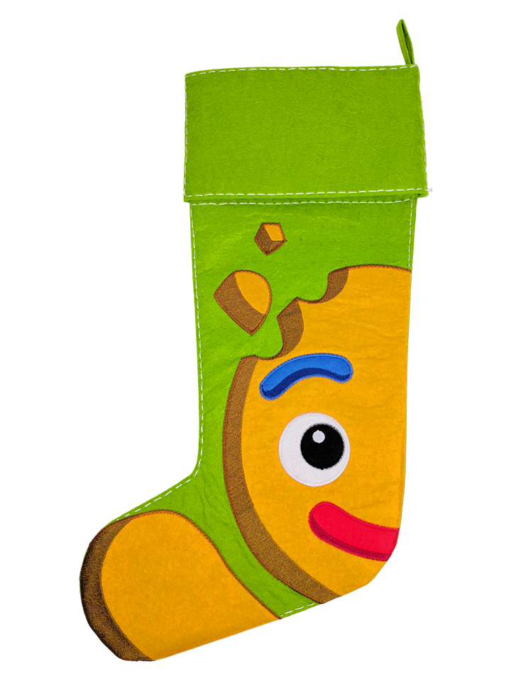 CHRISTMAS GINGERBREAD STOCKING