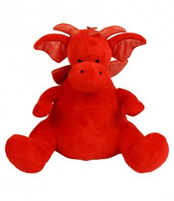 MUMBLES PERSONALISED RED DRAGON