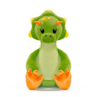 PERSONALISED GREEN DINOSAUR