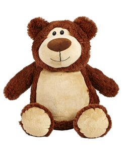 PERSONALISED BROWN BEAR