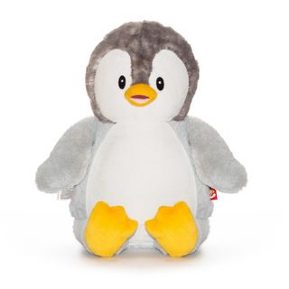 PERSONALISED GREY PENGUIN