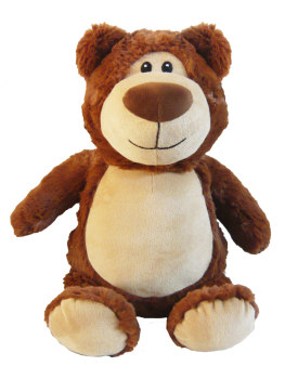 PERSONALISED BEAR - BROWN