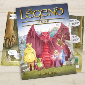 THE LEGEND OF ... BOOK