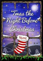 TWAS THE NIGHT BEFORE CHRISTMAS BOOK