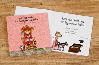 THE PRINCESS AND THE MYSTERIOUS NOISE BOOK