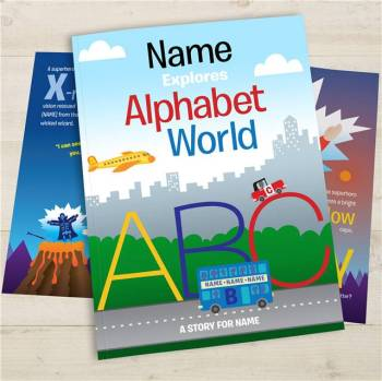 YOUR CHILD IN ALPHABET WORLD