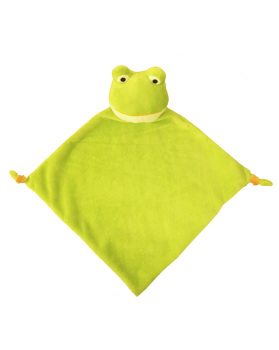 PERSONALISED FROG CUBBY COMFORTER