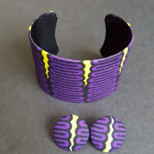 Tete Bangle and Earring Set