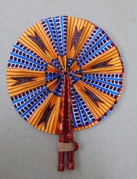 Africa Print Fan/Seto