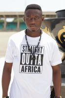 Straight Outta Africa /White