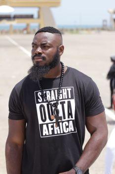 Straight Outta Africa /Navy