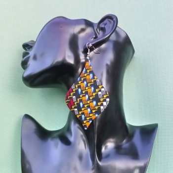 Teardrop Earrings/ Akuba