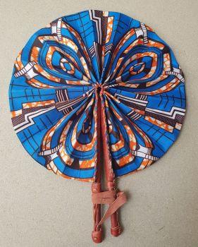 Africa Print Fan/Lomo