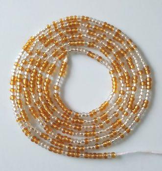 Waist Beads / Goldy Silver