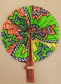 Africa Print Fan/Oko