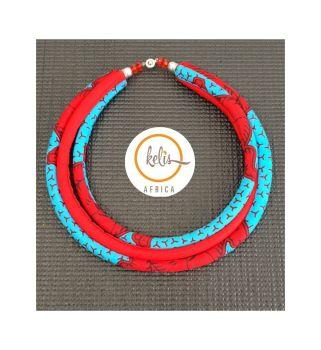 Yaa Yaa  Necklace / Blue