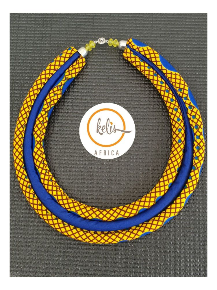 Yaa Yaa  Necklace / Yellow