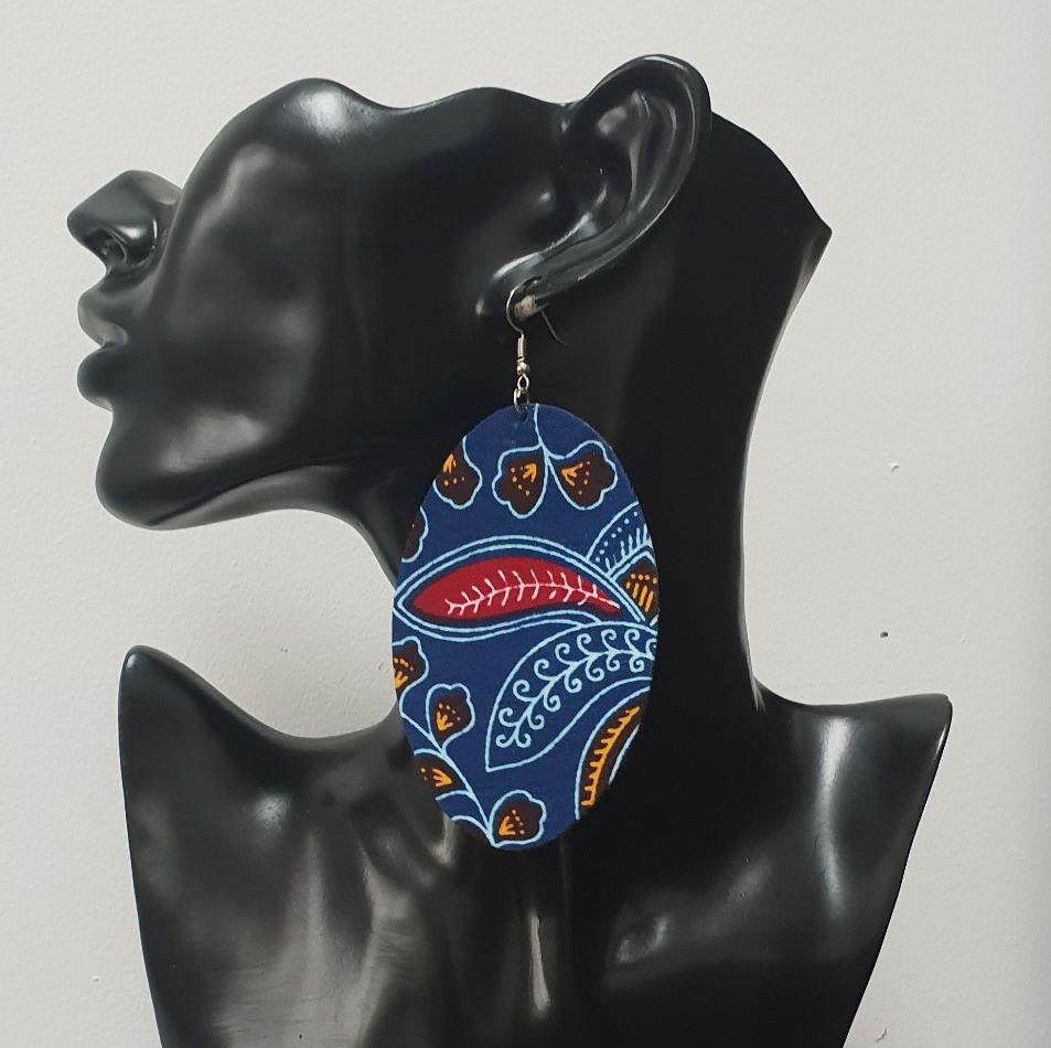 Large Oval Earrings / Subro
