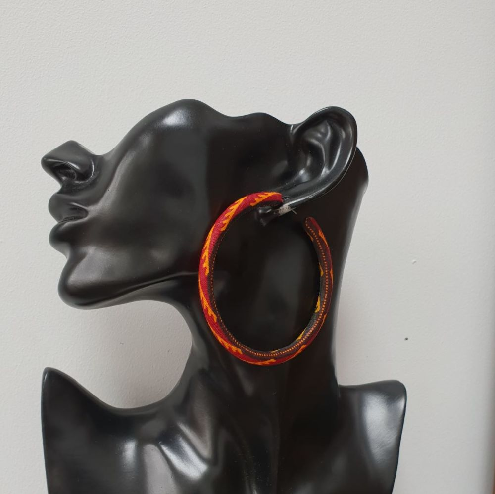 Hoops Earrings/ Esi