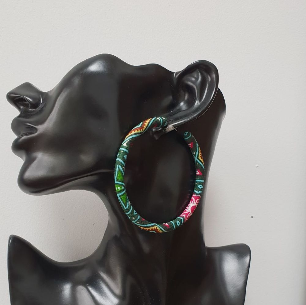 Hoops Earrings/ Dso