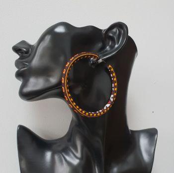Hoops Earrings/ Akos