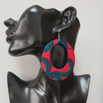 Ooo  earrings / Pink Roni