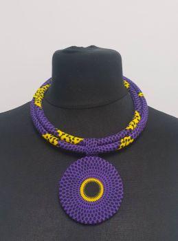 Zuri Choker /Purple