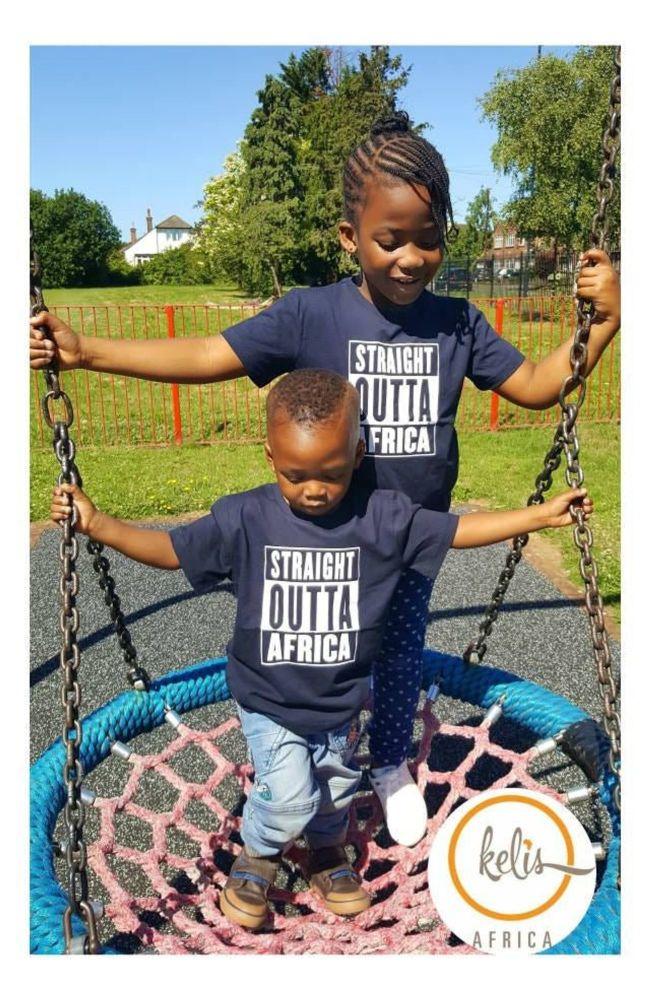 Children Straight Outta Africa /Navy