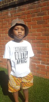 Children Straight Outta Africa /White